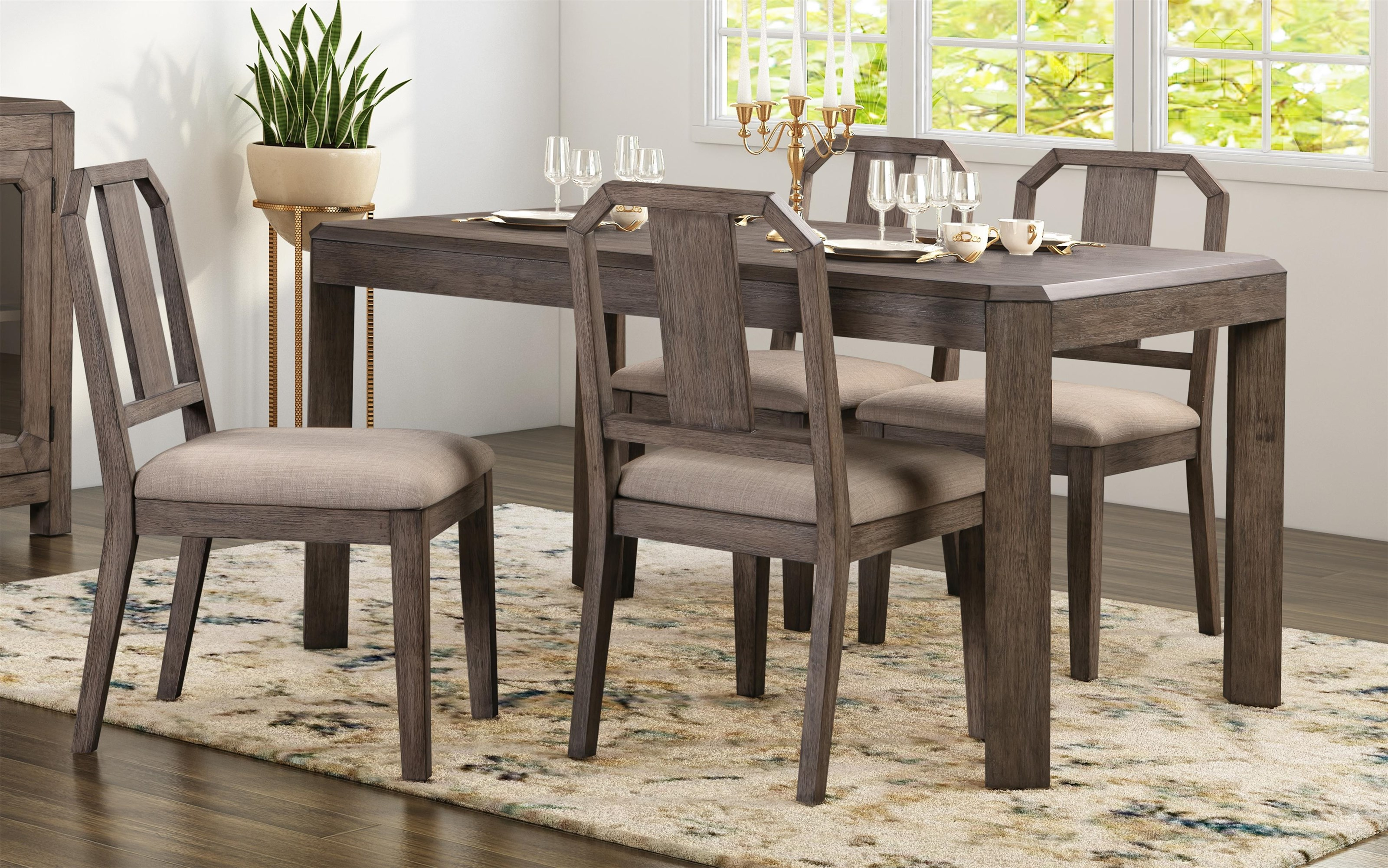 Anchorage Anchorage 5-Piece Dining Set by Modus International at Morris Home