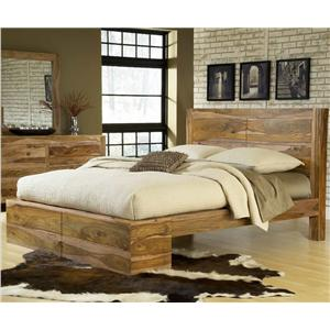 Modus International Atria Queen Panel Bed
