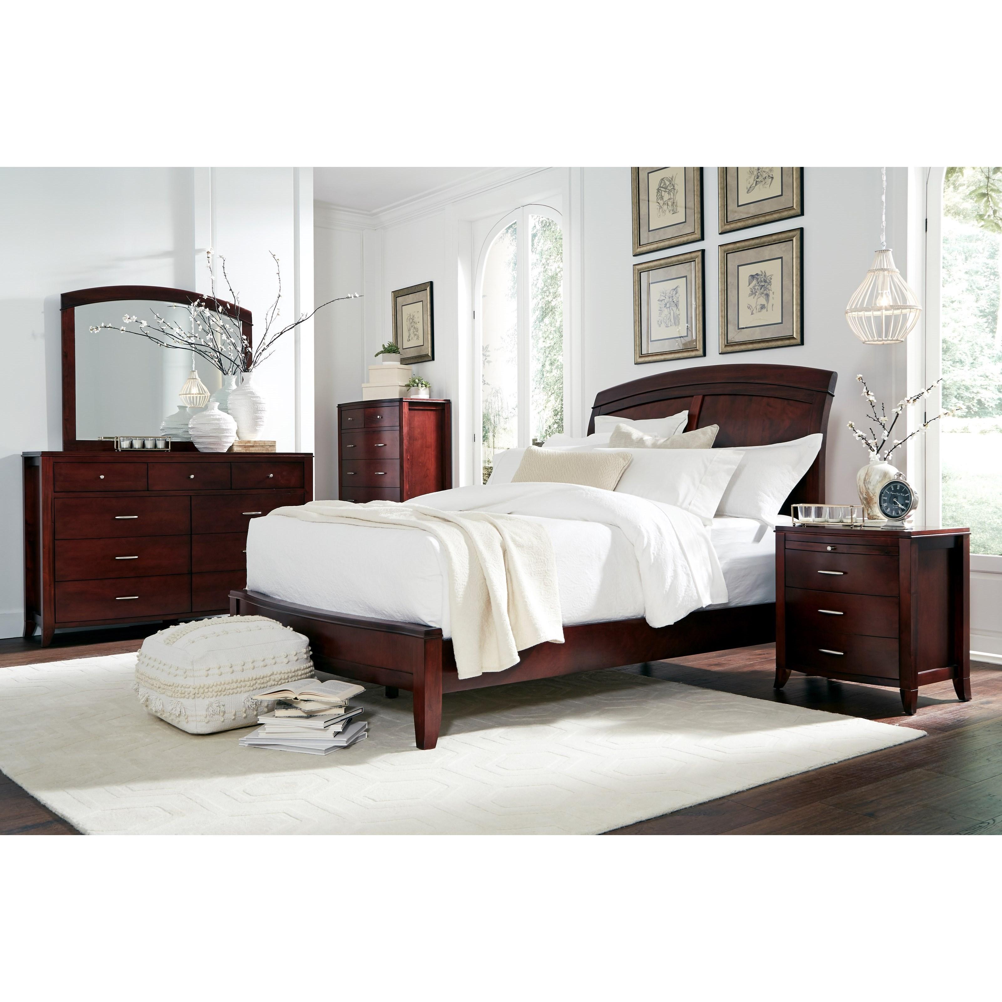 Brighton California King Bedroom Group at Sadler's Home Furnishings