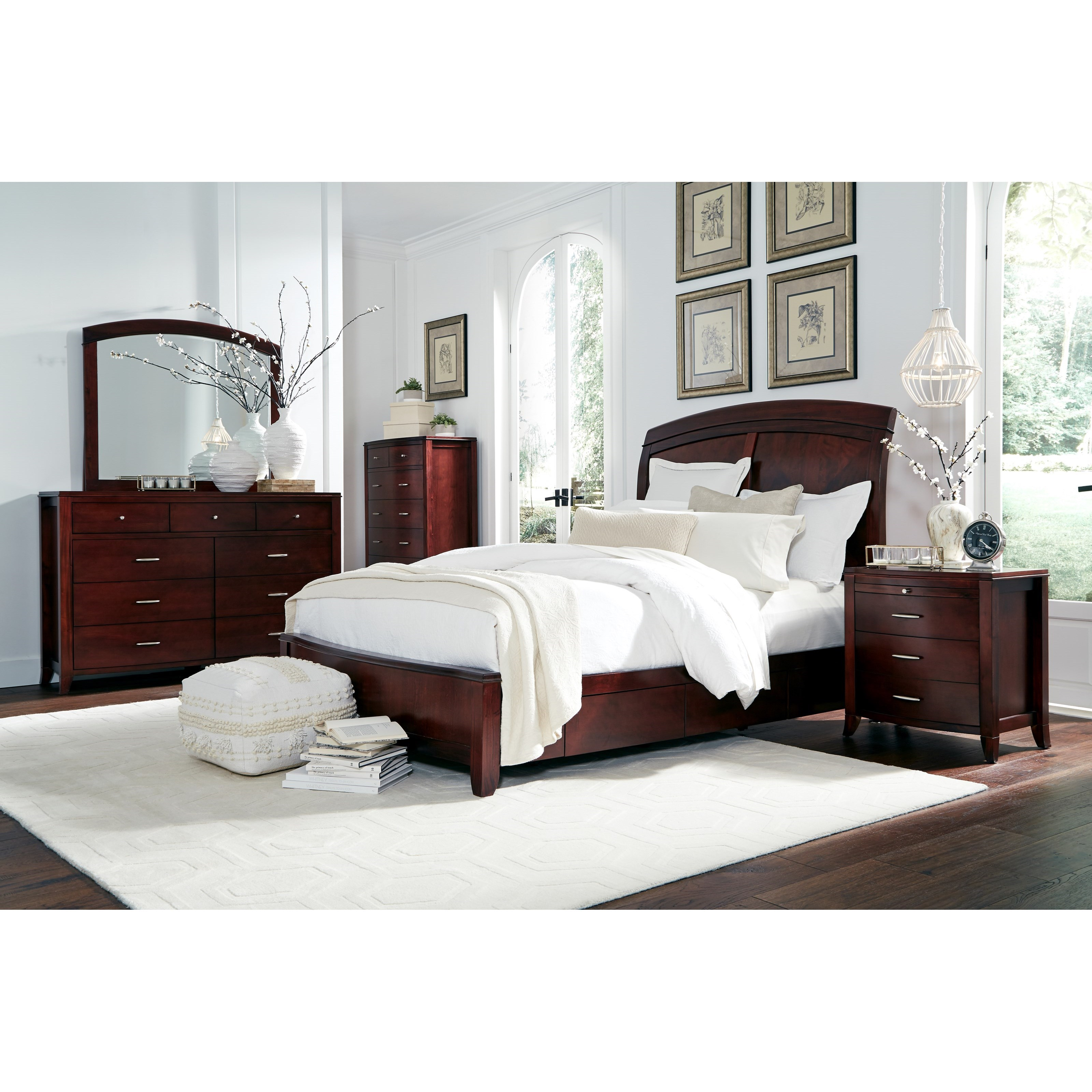 Brighton Full Bedroom Group at Sadler's Home Furnishings