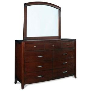 9 Drawer Dresser w/ Mirror