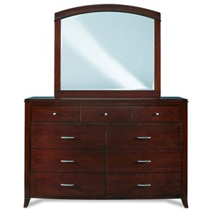 9 Drawer Dresser w/ Mirror