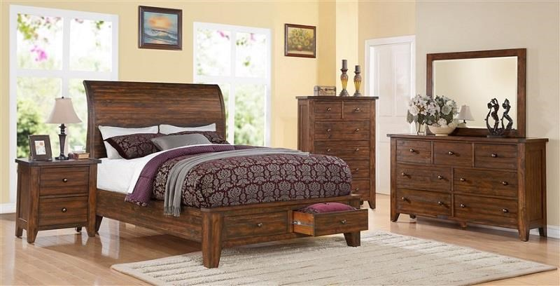 4 PC Q Bedroom Group