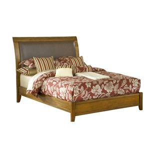 Modus International City II California King Low Profile Sleigh Bed