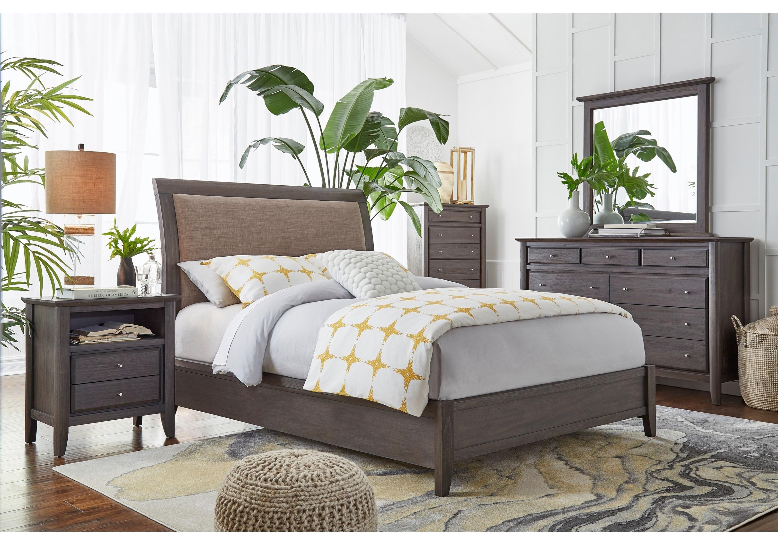 4 Piece King Bedroom Group