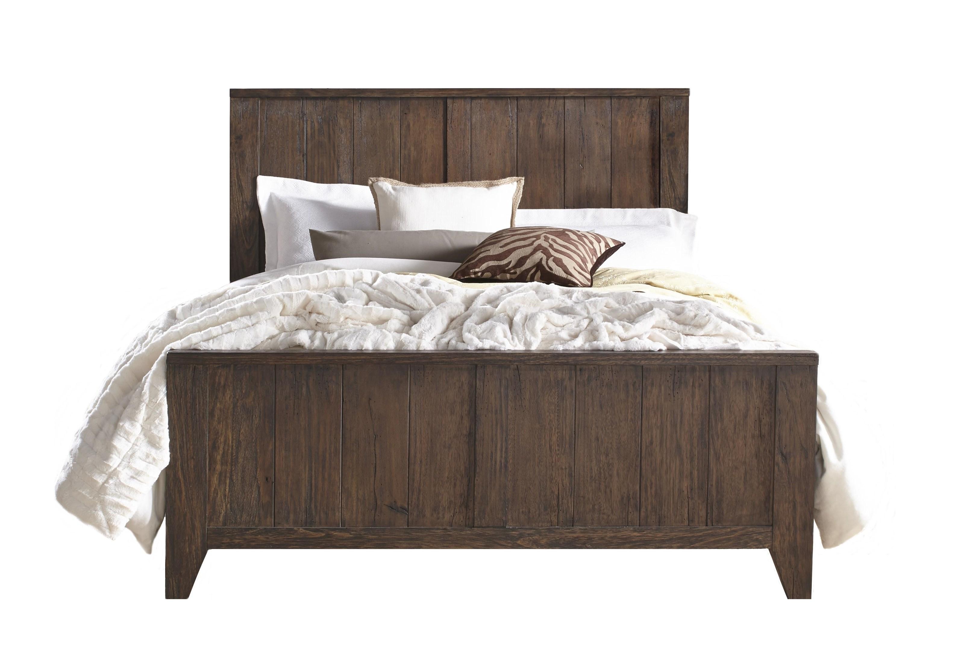 Corinth King Bed by Modus International at HomeWorld Furniture