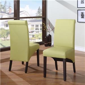 Modus International Cosmo Dining Sleigh Back Chair