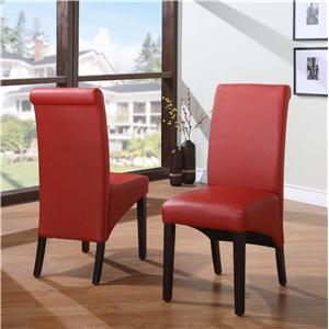Modus International Cosmo Dining Sleigh Back Chair