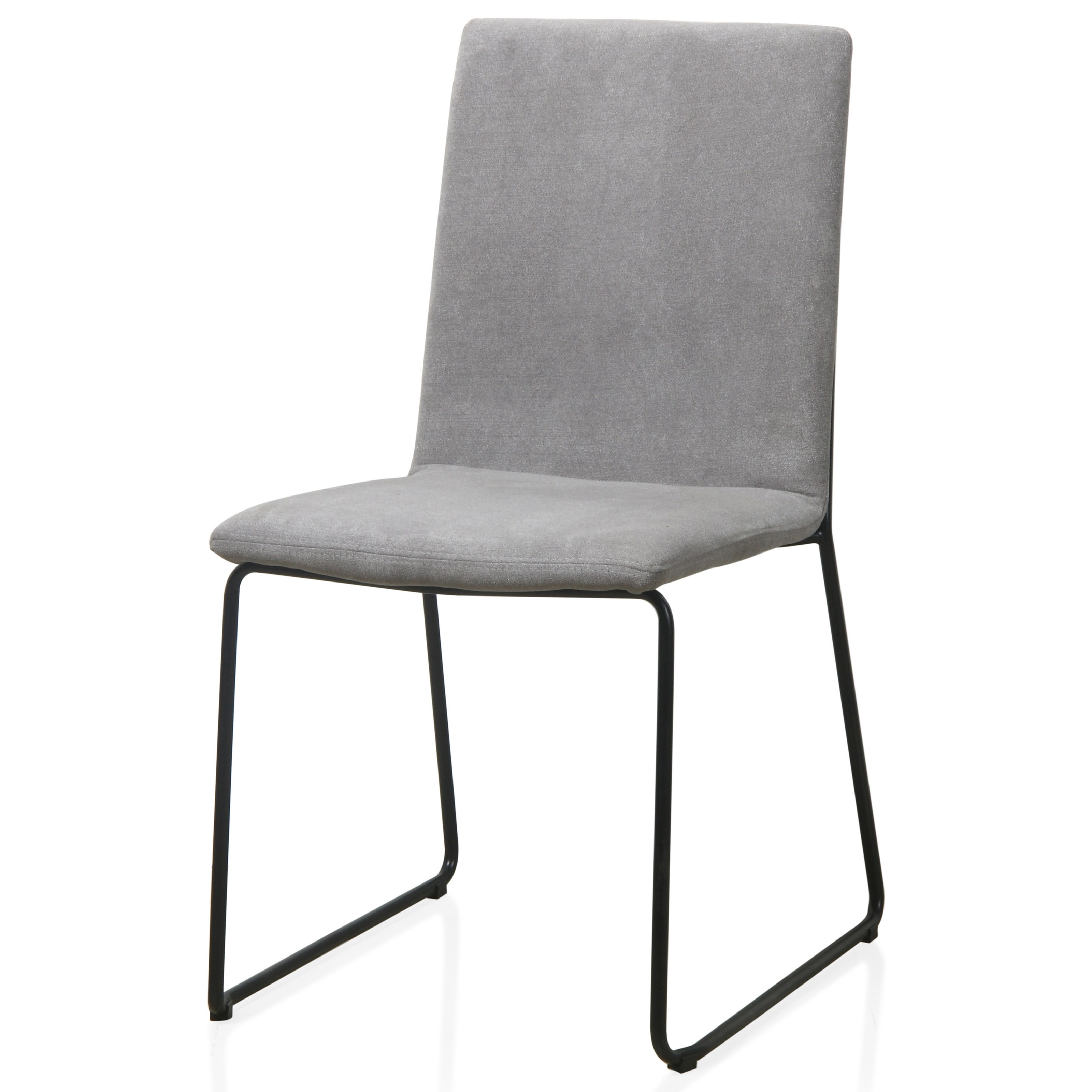 Baird Upholstered Sled Base Dining Chair in