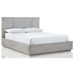 Contemporary Full Panel Bed