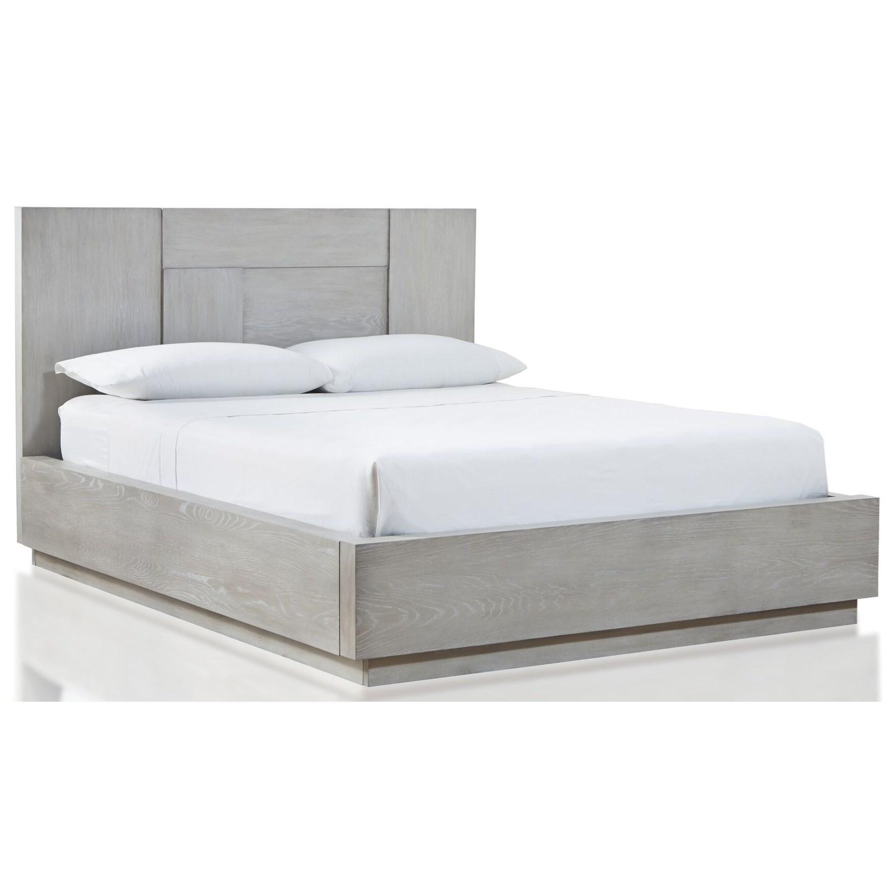 Destination California King Panel Bed by Modus International at HomeWorld Furniture