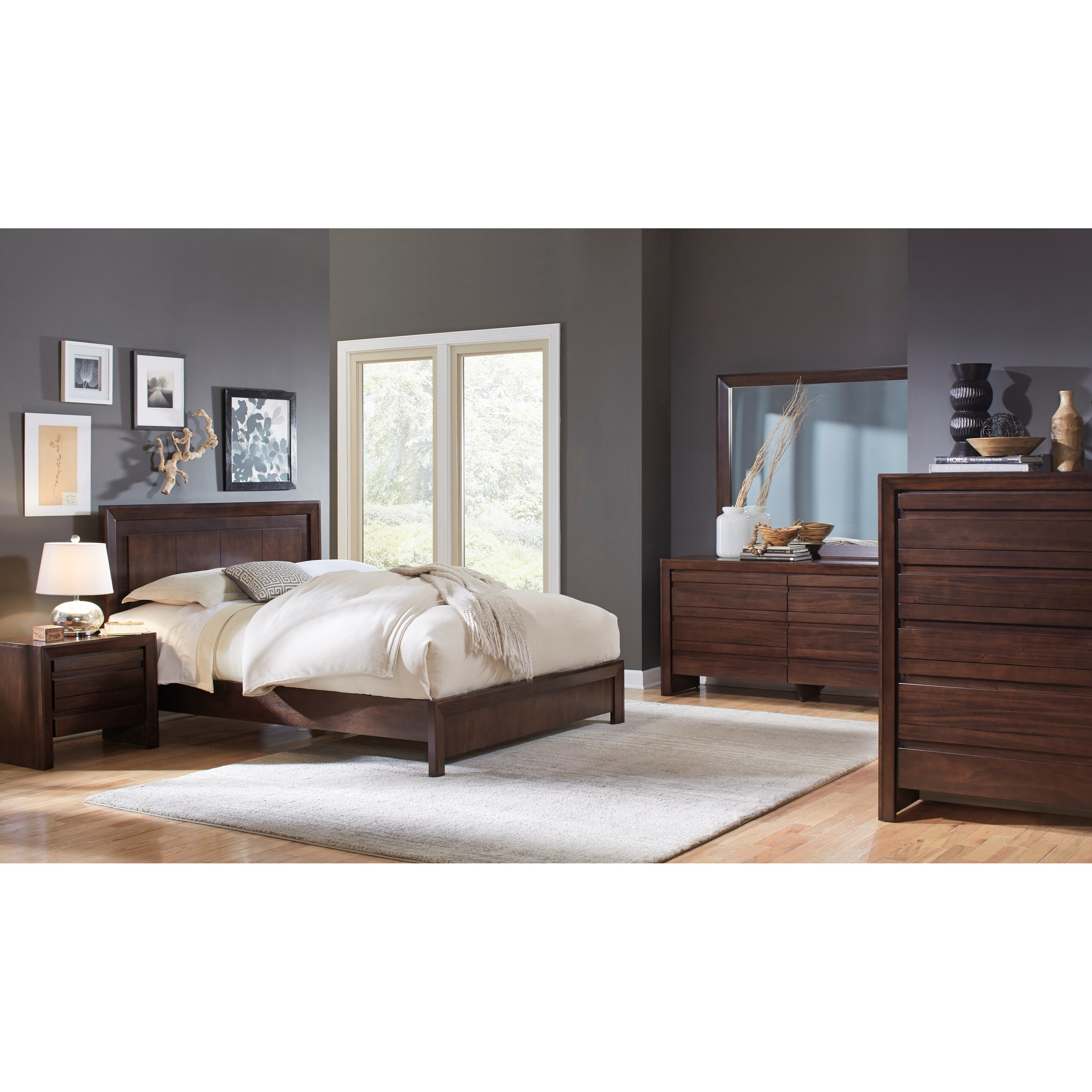 Element California King Bedroom Group by Modus International at A1 Furniture & Mattress