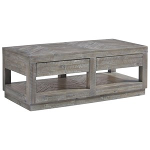 Contemporary 2-Drawer Coffee Table
