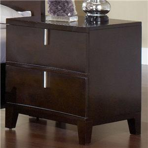Modus International Legend Wood Two Drawer Nightstand