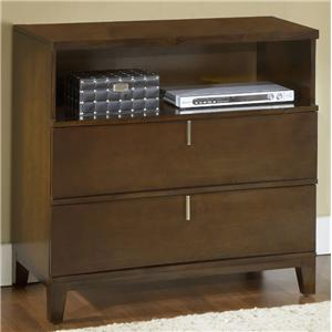 Modus International Legend Wood Two Drawer Small Media Chest