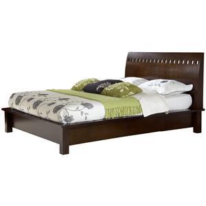 Modus International Legend Wood Queen Platform Bed