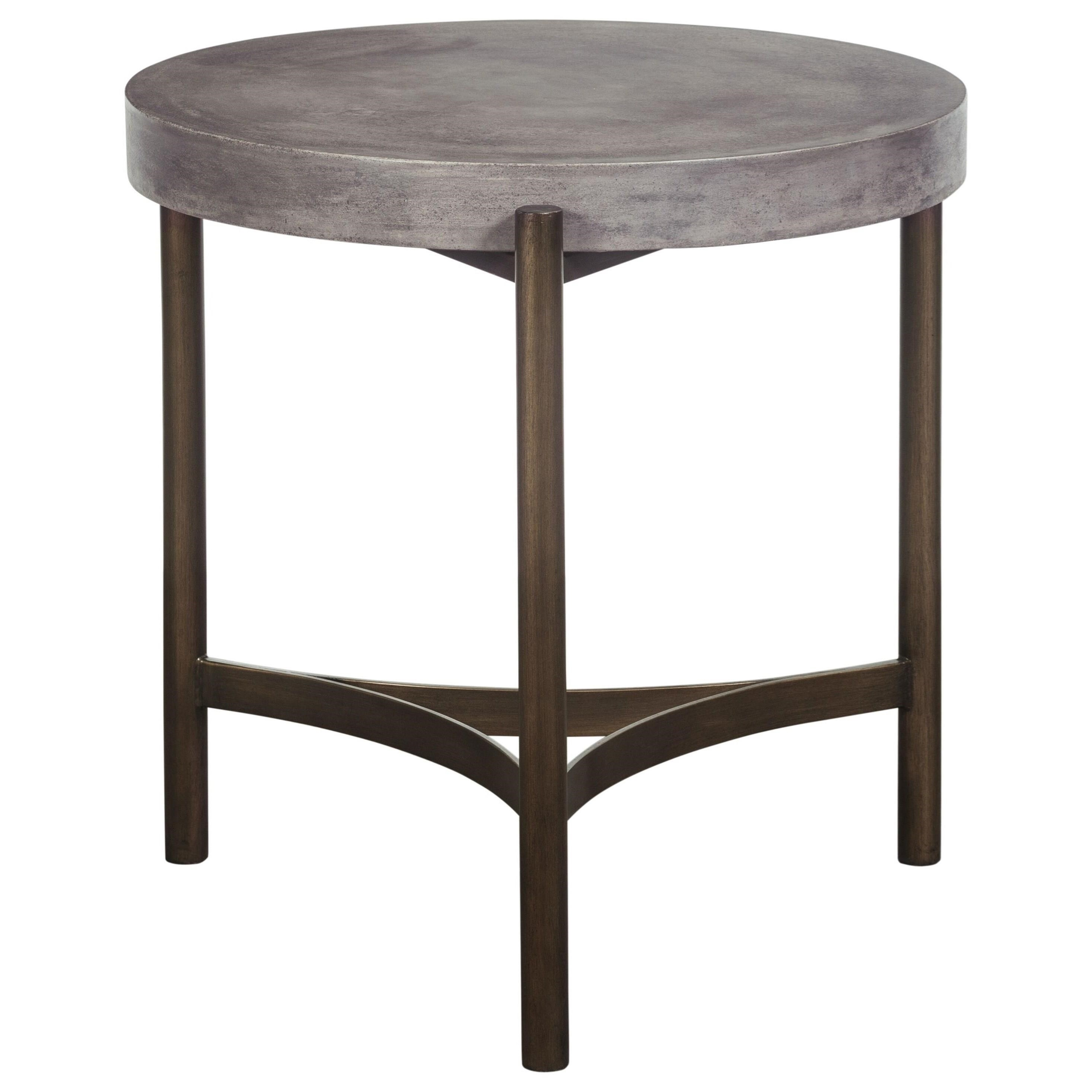 Lyon Round End Table by Modus International at Del Sol Furniture