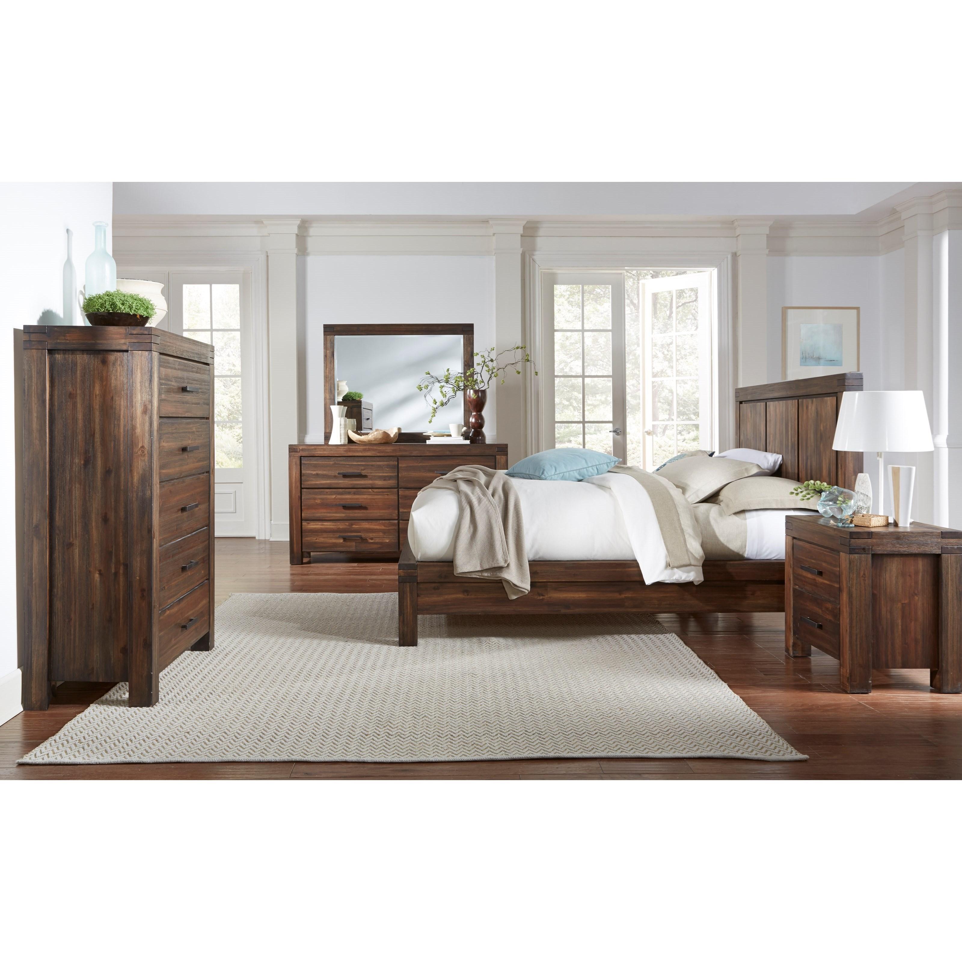 12063 California King Bedroom Group at Sadler's Home Furnishings