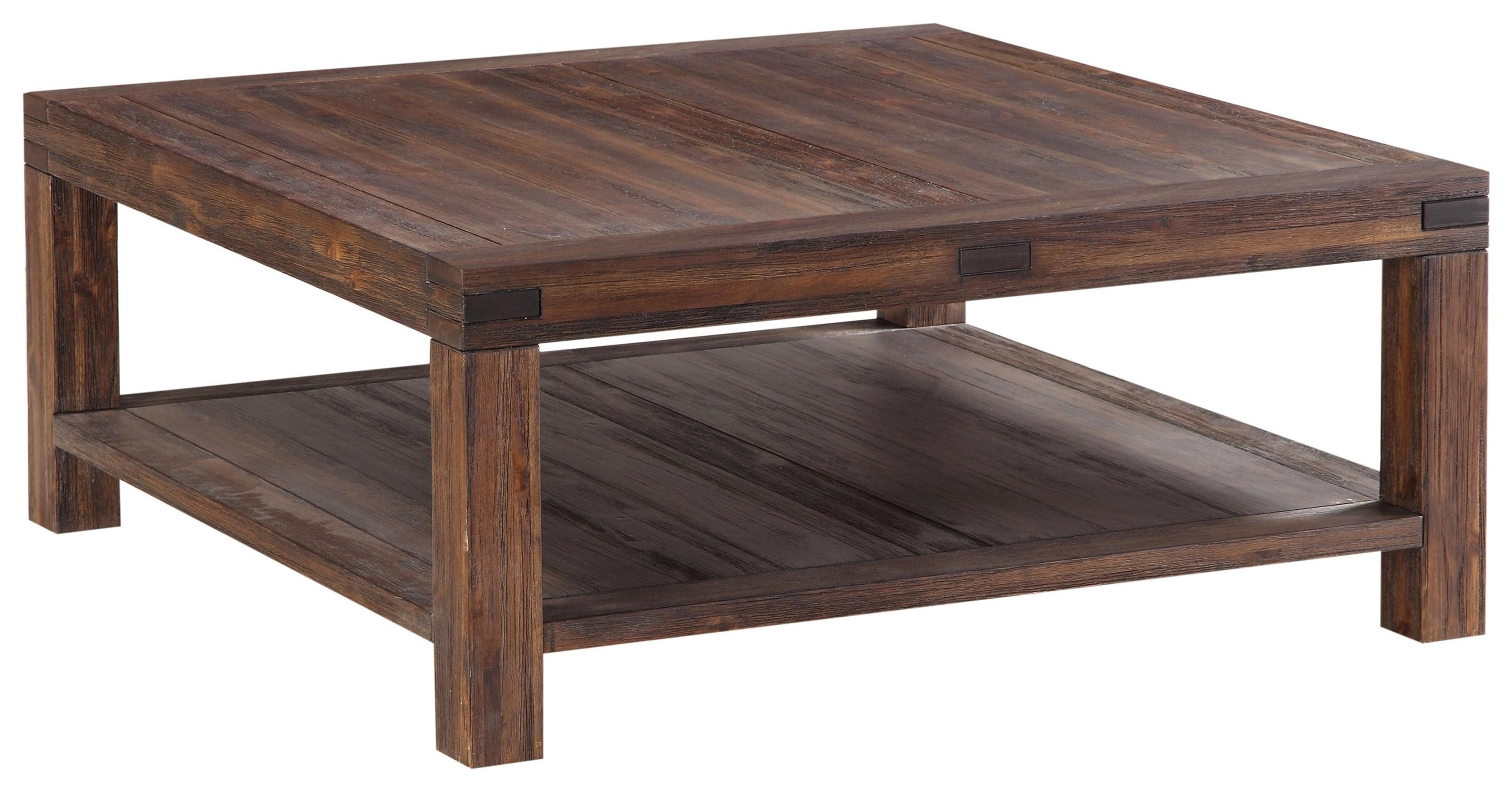 Square Coffee Table at Sadler's Home Furnishings