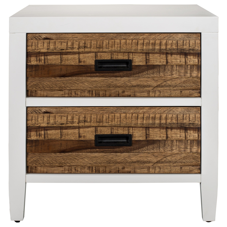Montana 2 Drawer Nightstand by Modus International at HomeWorld Furniture
