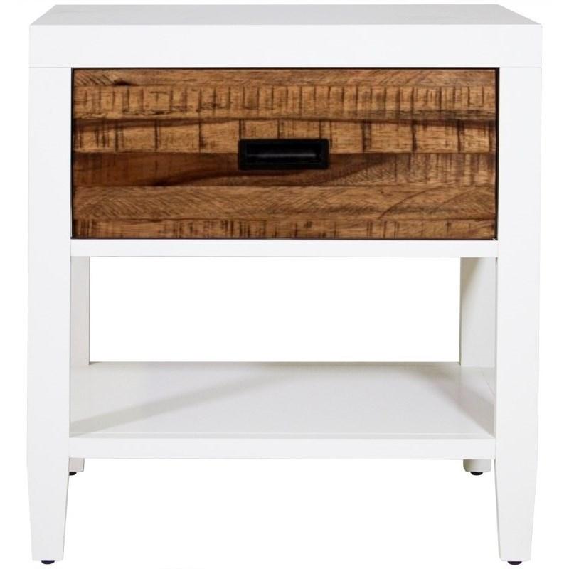 Montana 1 Drawer Nightstand by Modus International at HomeWorld Furniture