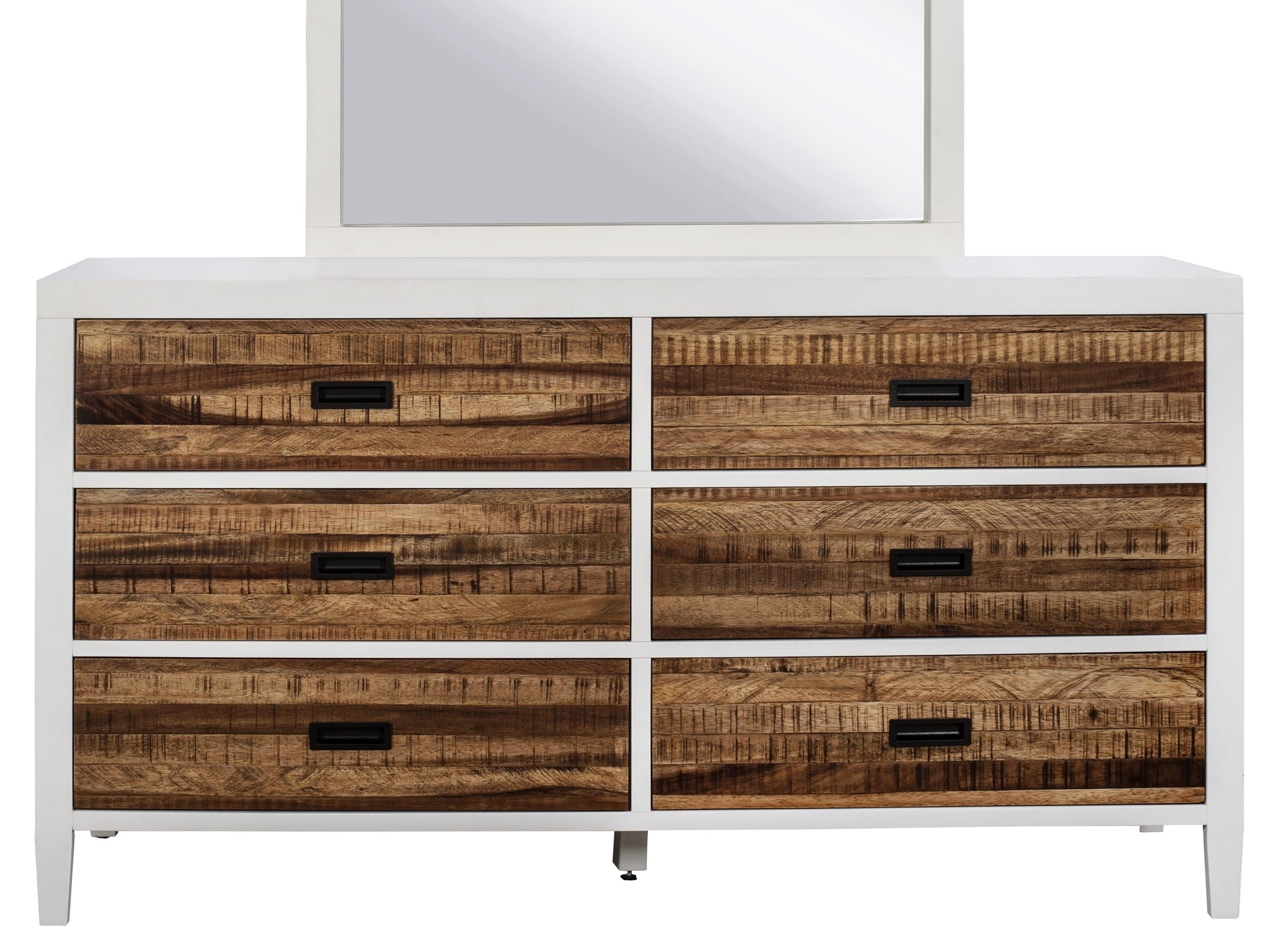 Montana 6 Drawer Dresser by Modus International at Red Knot