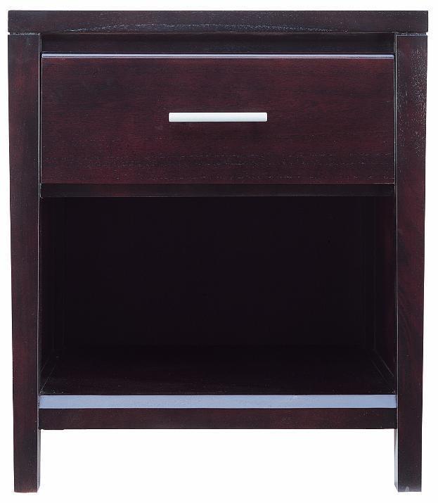 Nevis 1 Drawer Nightstand by Modus International at HomeWorld Furniture