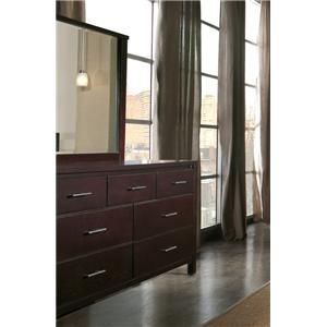 Modus International Nevis Dresser and Mirror Combo