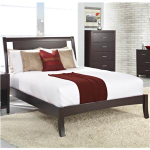 Modus International Nevis Queen Low Profile Bed