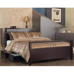 Modus International Nevis Queen Platform Bed with Storage