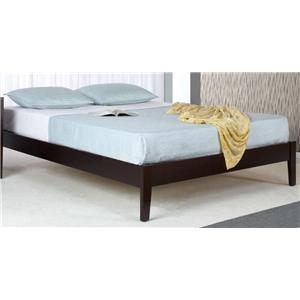 Modus International Nevis Full Simple Platform Bed