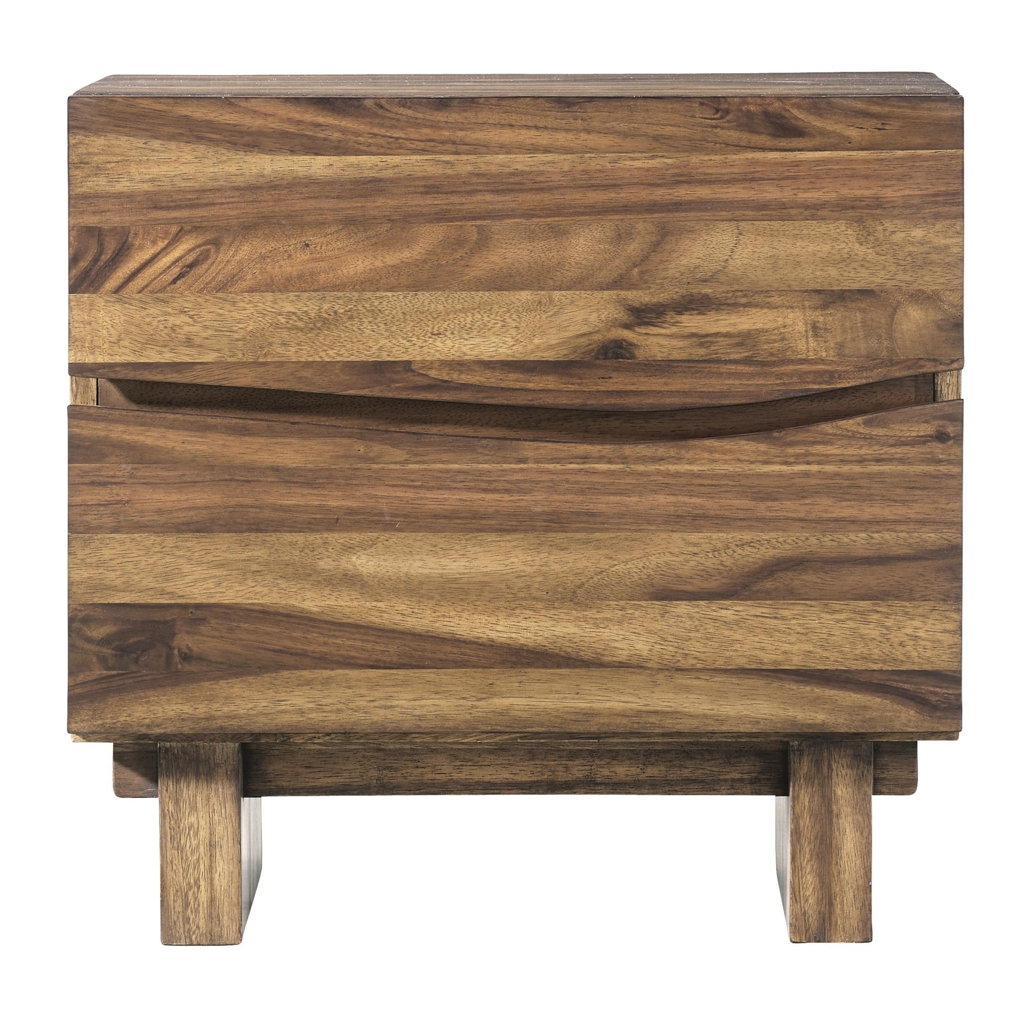 Ocean 2 Drawer Nightstand by Modus International at Red Knot
