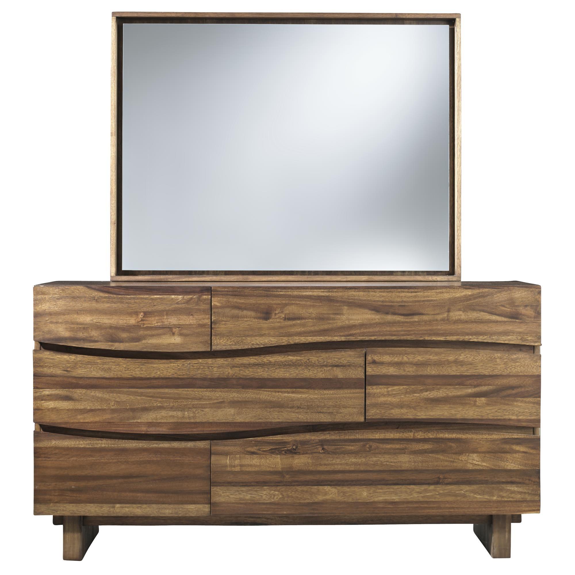 Ocean 6 Drawer Dresser by Modus International at HomeWorld Furniture