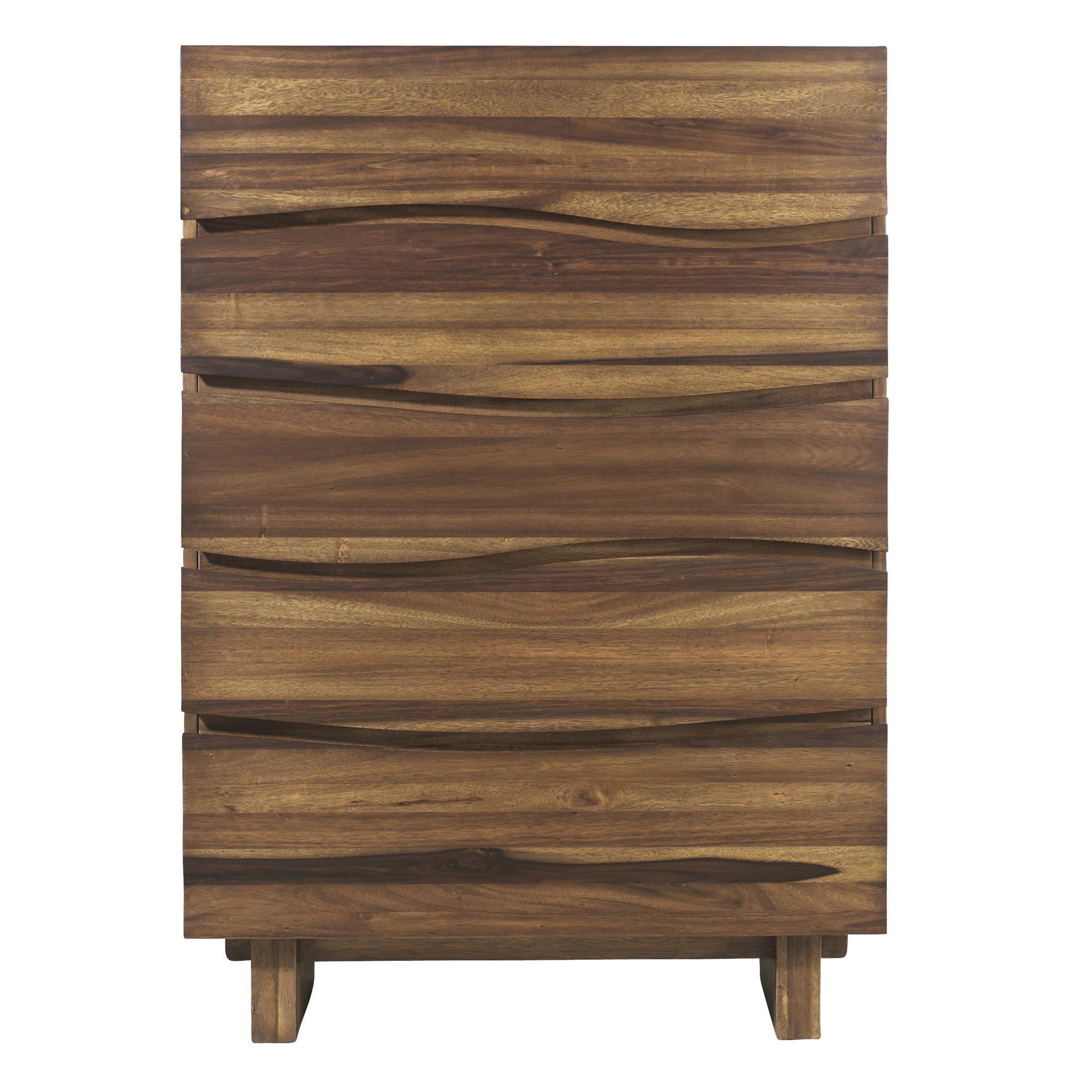 Ocean 5 Drawer Chest by Modus International at HomeWorld Furniture