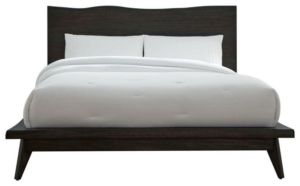 Tahoe King Platform Bed by Modus International at HomeWorld Furniture