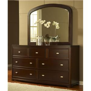 Modus International Telos Dresser and Mirror Combo