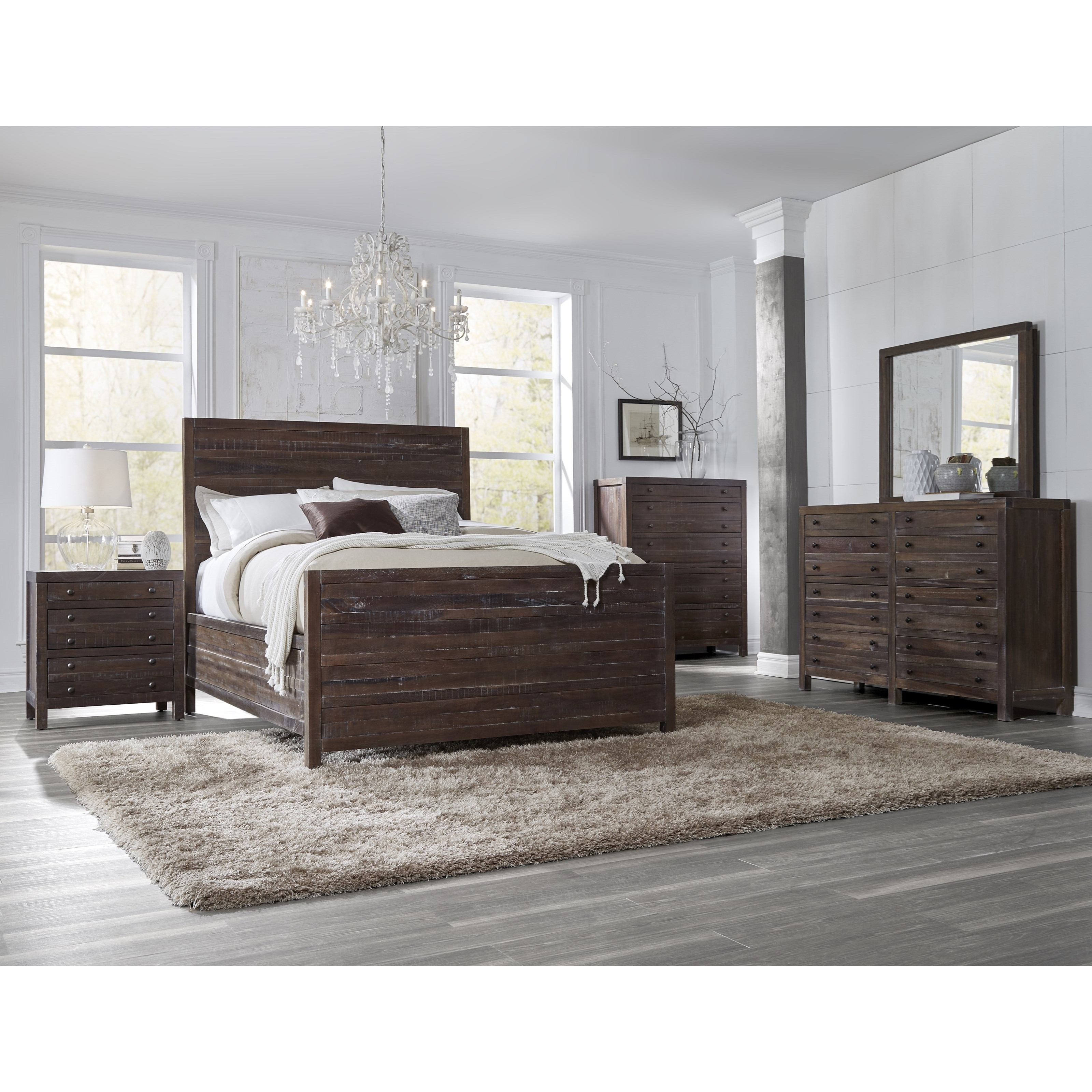 Townsend King Bedroom Group by Modus International at Del Sol Furniture