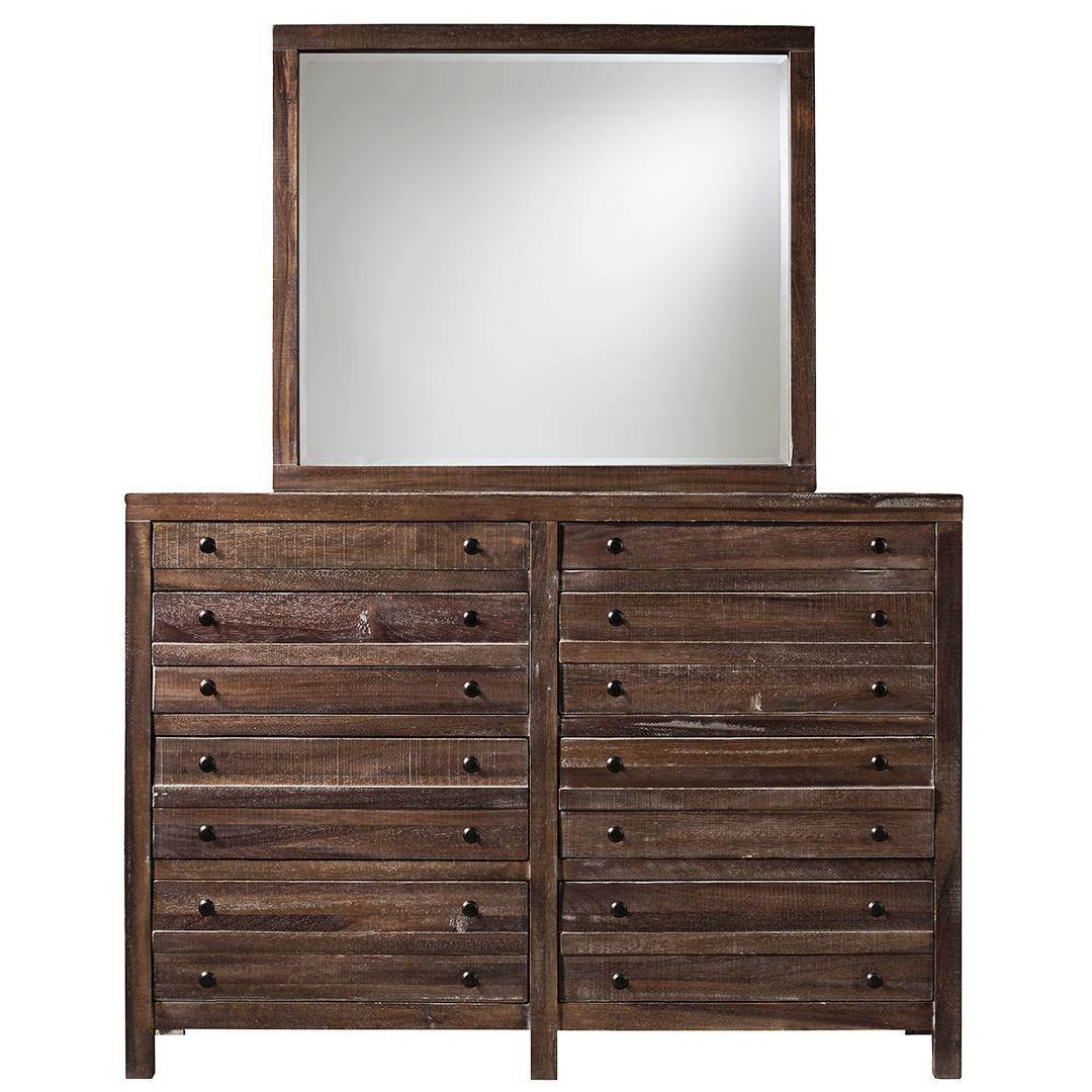 8-Drawer Dresser with Mirror