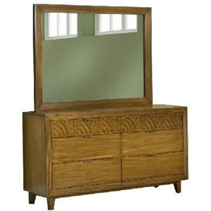 Modus International Trellis Dresser & Mirror