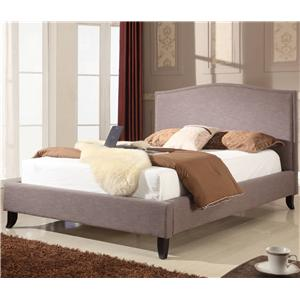 Modus International Upholstered Bedroom Full Elise Bed