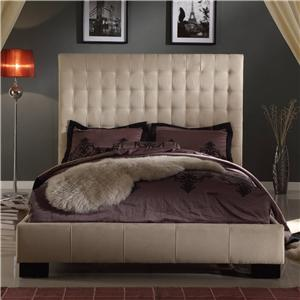 Modus International Upholstered Bedroom Queen Ella Bed