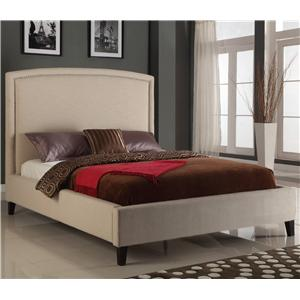 Modus International Upholstered Bedroom Full Luna Bed