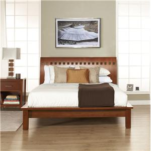 Modus International Veneto Queen Platform Bed