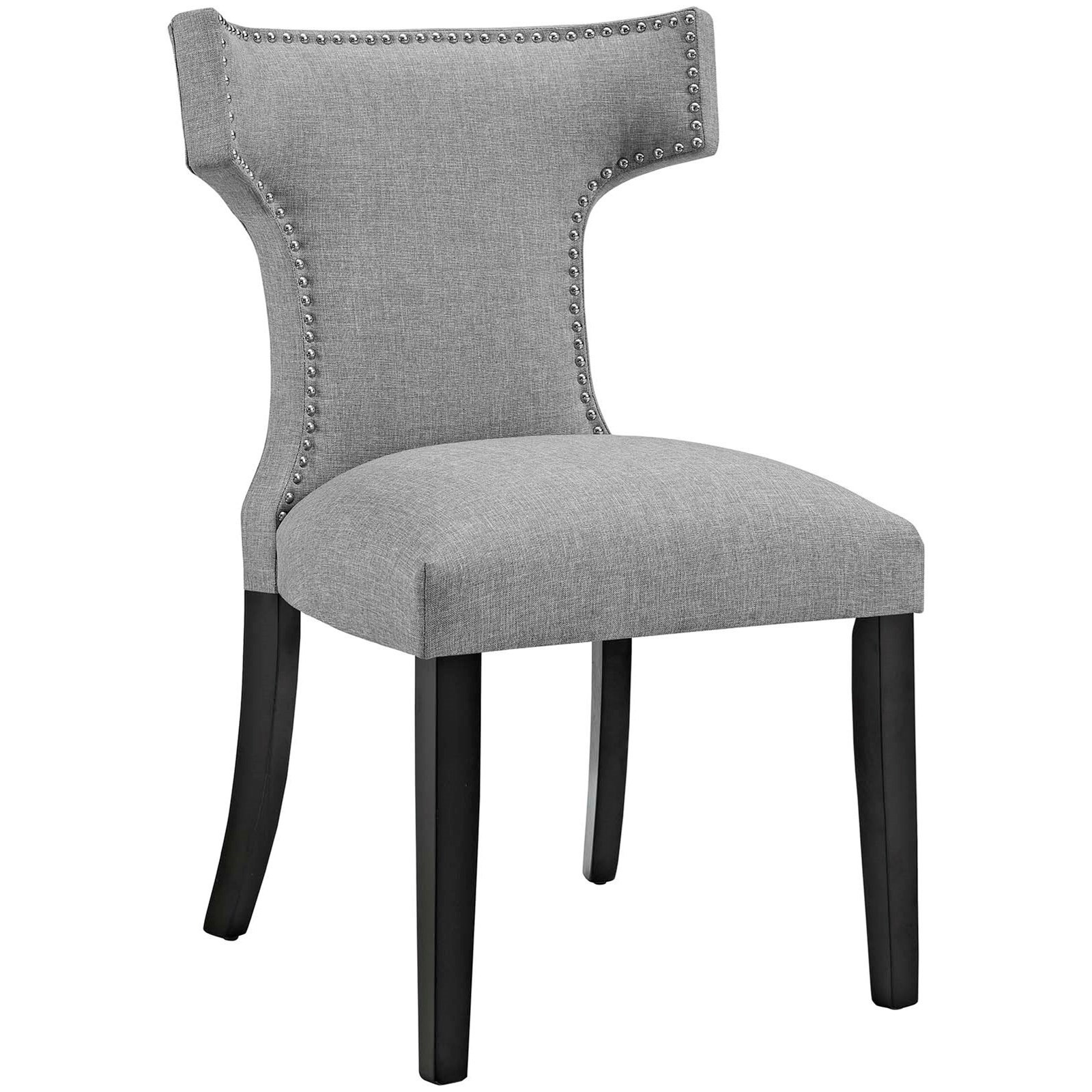 Curve Fabric Dining Chair by Modway at Del Sol Furniture