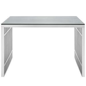Gridiron Stainless Steel Office Desk