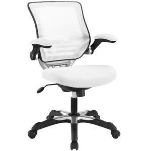 Edge Mesh Office Chair In White