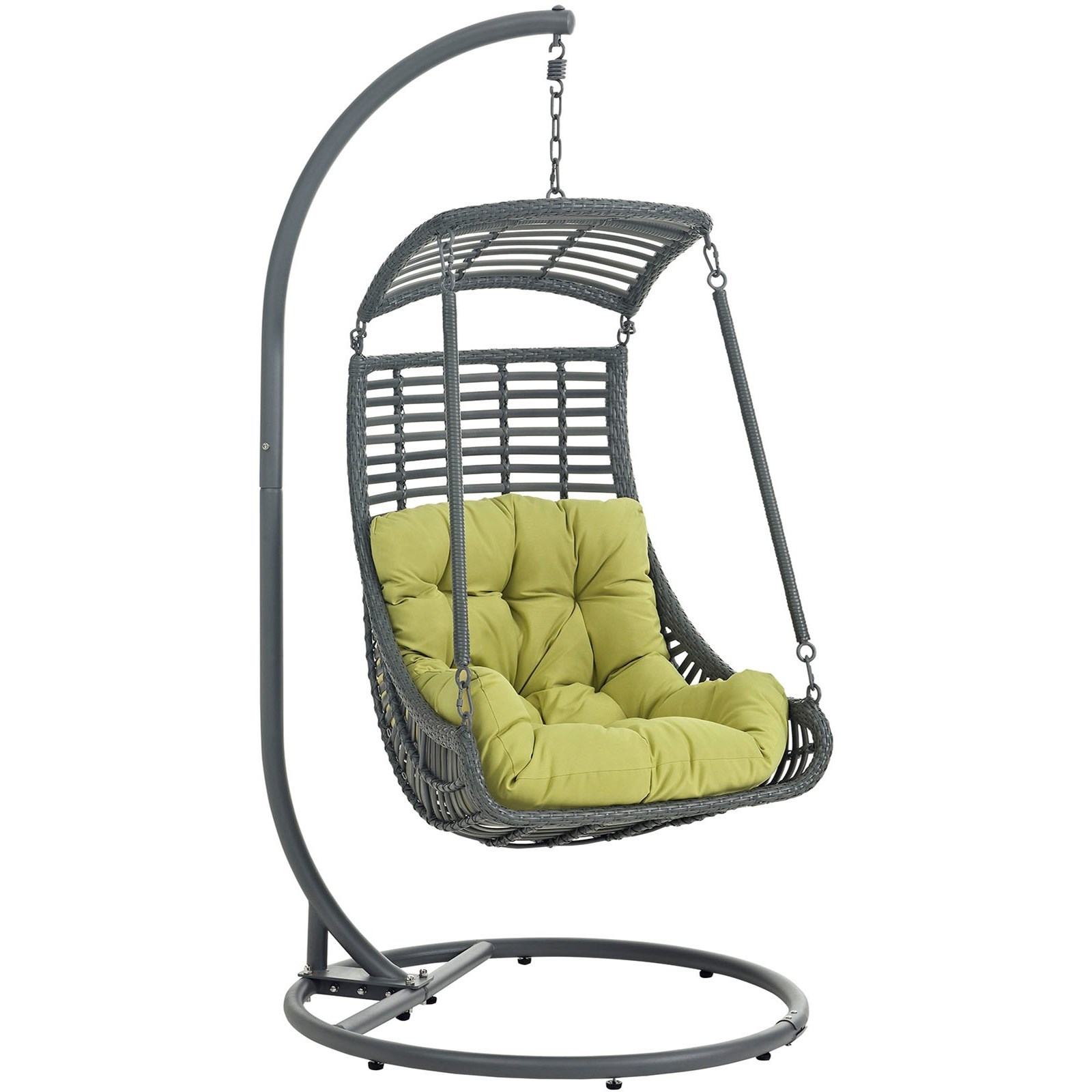 Jungle Outdoor Patio Swing Chair by Modway at Del Sol Furniture