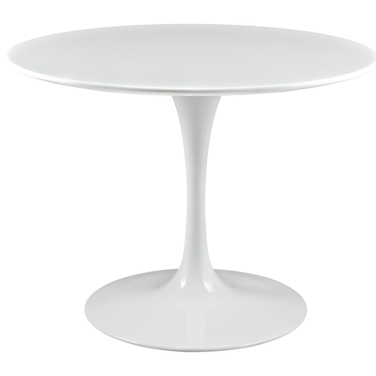 Lippa White Round Dining Table by Modway at Value City Furniture
