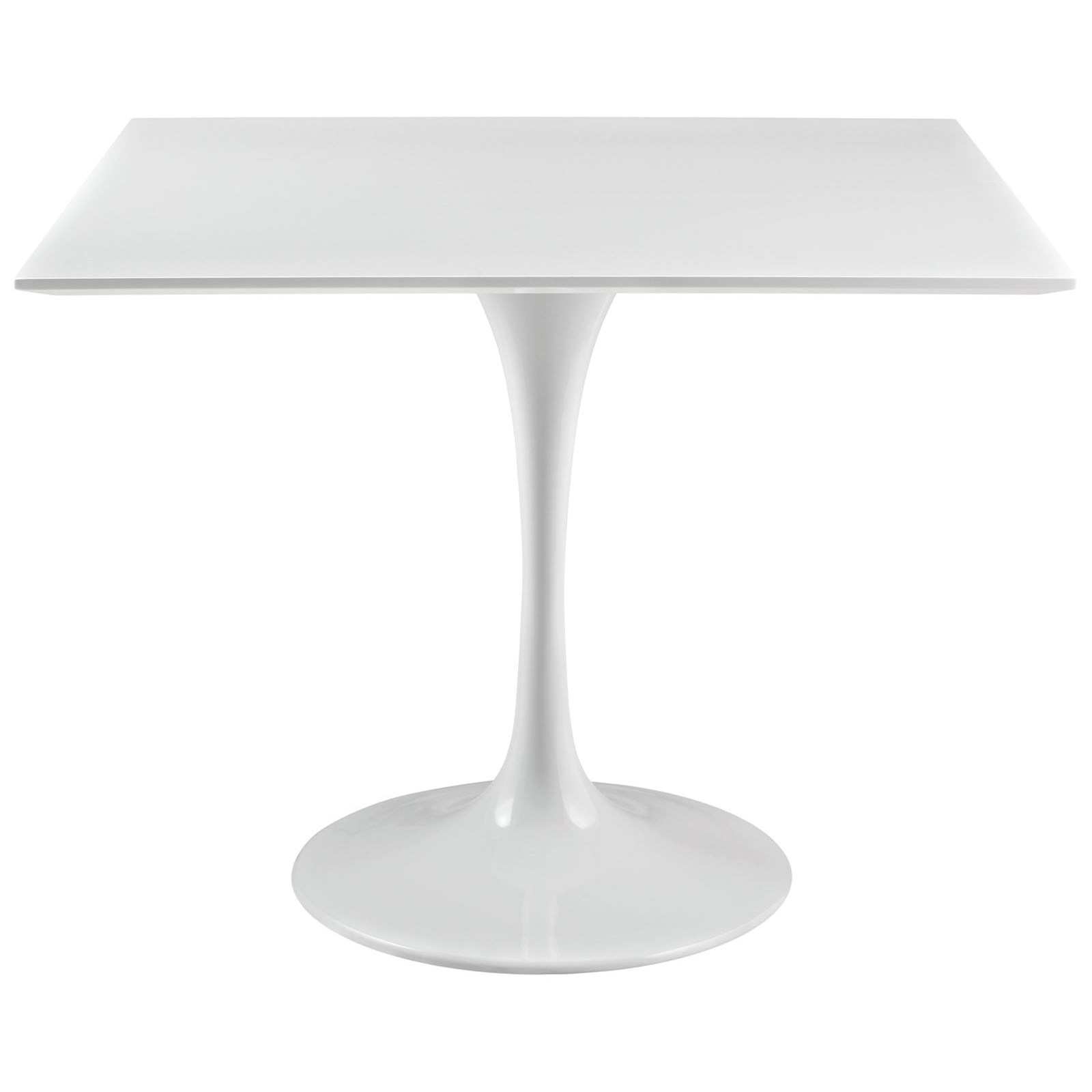 Lippa White Square Dining Table by Modway at Value City Furniture