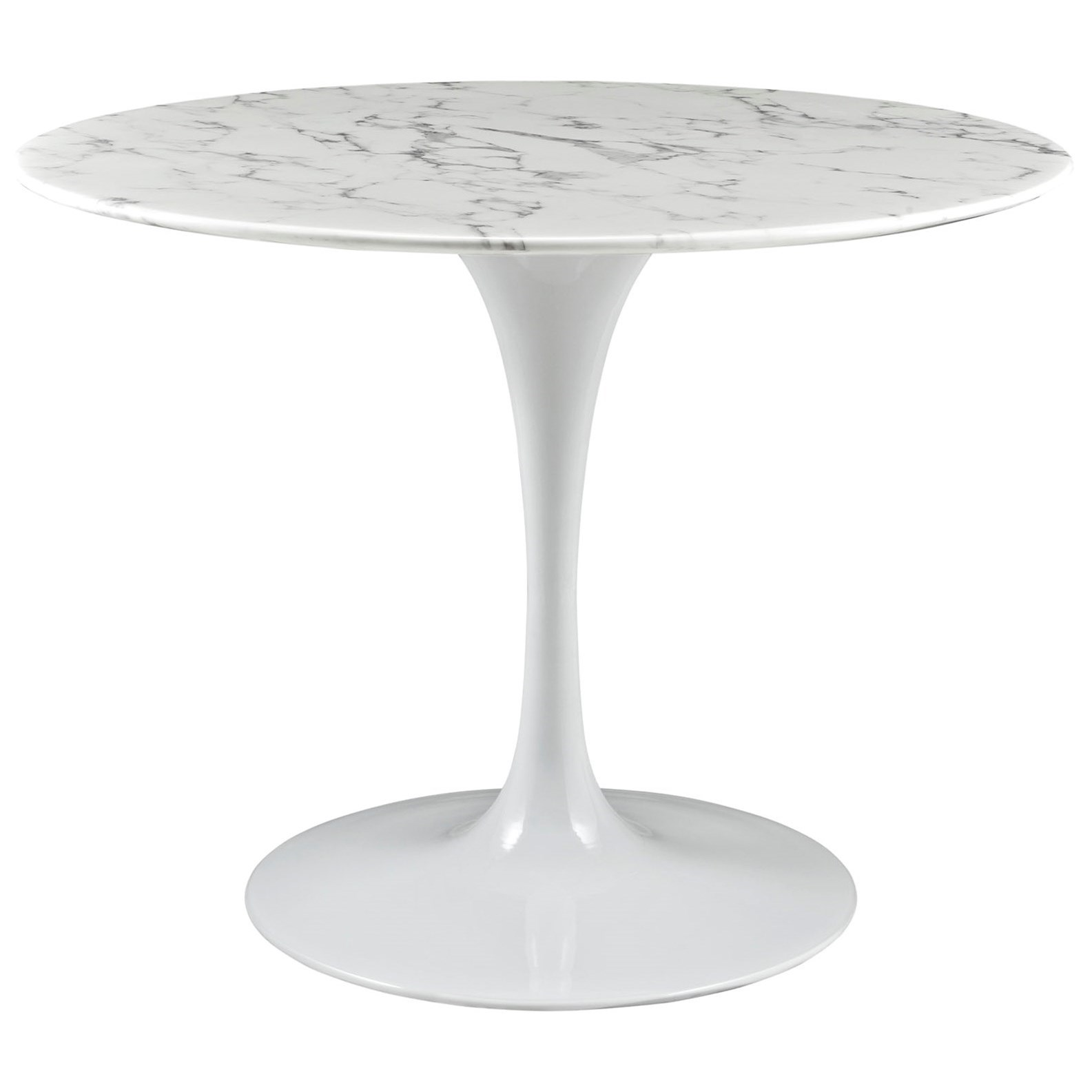 Lippa Marble Round Dining Table by Modway at Value City Furniture